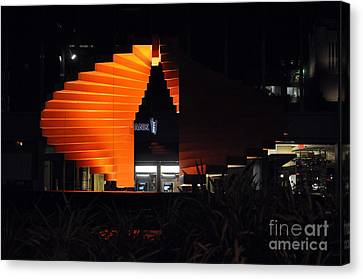 Clayton Canvas Print - L.a. Nights by Clayton Bruster