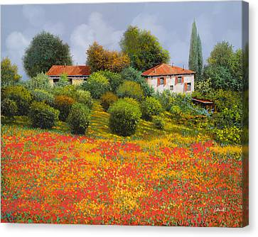 La Nuova Estate Canvas Print by Guido Borelli