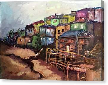 La Perla De Puerto Rico Canvas Print