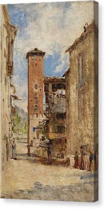 La Portela Canvas Print by Bartolomeo Bezzi