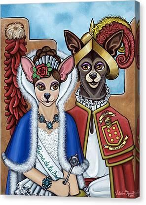La Reina Y Devargas Canvas Print