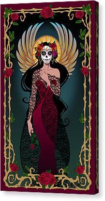 La Rosa Canvas Print by Cristina McAllister