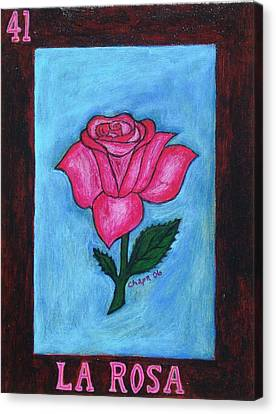 La Rosa Canvas Print by Manny Chapa