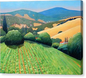 La Rusticana Revisited Canvas Print by Gary Coleman