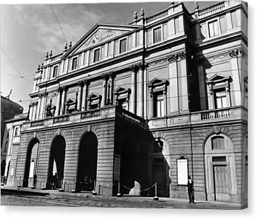 La Scala, Opera House, In Milan, Italy Canvas Print by Everett
