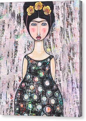 La-tina Canvas Print by Natalie Briney