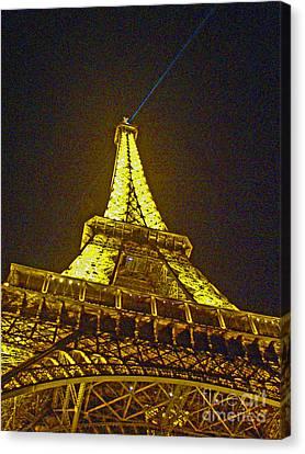 La Tour Eiffel II Canvas Print by Al Bourassa