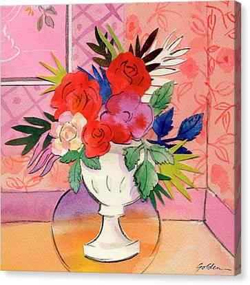 La Vie En Rose 2. After Dufy Canvas Print