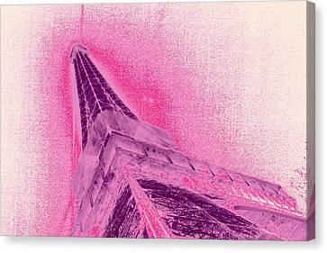 La Vie En Rose Canvas Print by Lucie