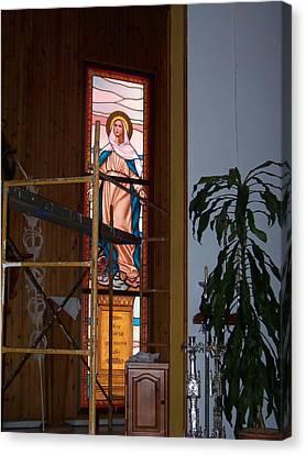 La Virgen Milagrosa Canvas Print