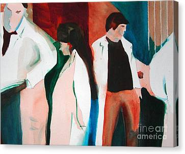 Lab Coats Canvas Print