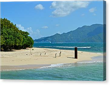 Labadie Or Labadee - Either Way Its  A Haitian Paradise Canvas Print