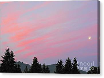 Lebanon Sunrise Canvas Print