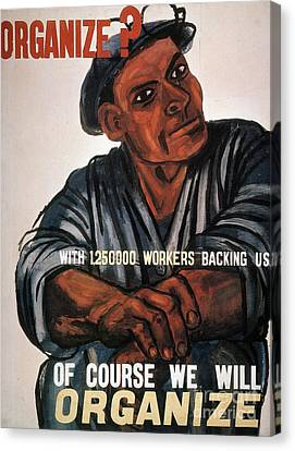 Labor: Poster, 1930s Canvas Print by Granger