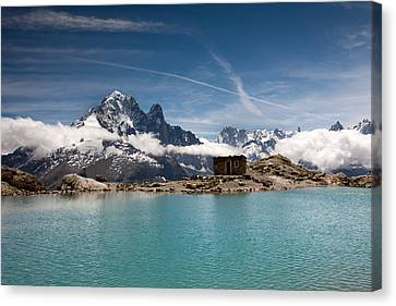 Lac Blanc Canvas Print