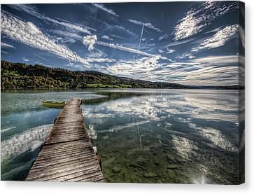 Lac Saint-point Canvas Print