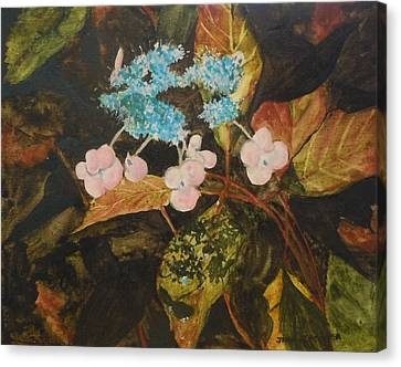 Lace Cap 2 Canvas Print by Jean Blackmer