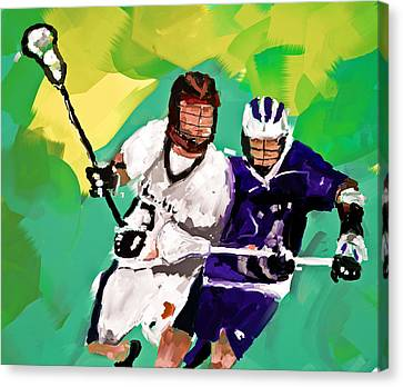 Lacrosse I Canvas Print by Scott Melby