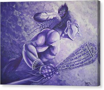 Lacrosse  Canvas Print by Kerdy Mitcho
