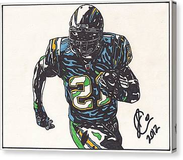 Ladainian Tomlinson 1 Canvas Print by Jeremiah Colley