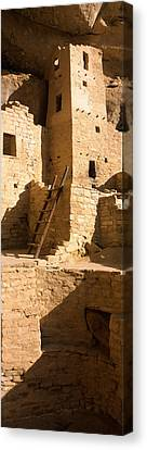 Ladder At House, Cliff Palace, Mesa Canvas Print by Panoramic Images