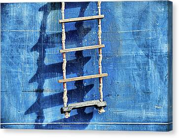 Ladder To Upstairs Canvas Print