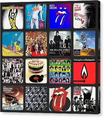 Ladies And Gentlmen The Rolling Stones Canvas Print