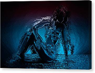 Lady - 2 Canvas Print by Naman Imagery