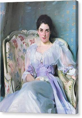 Lady Agnew Canvas Print by MotionAge Designs