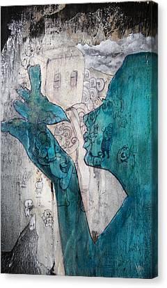 Lady Bird Canvas Print by Konrad Geel