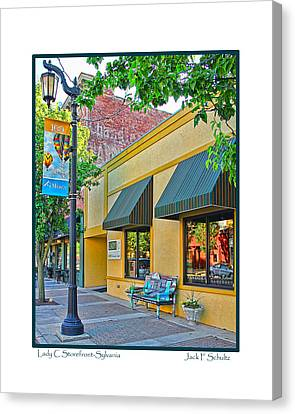 Lady C Storefront-sylvania Canvas Print