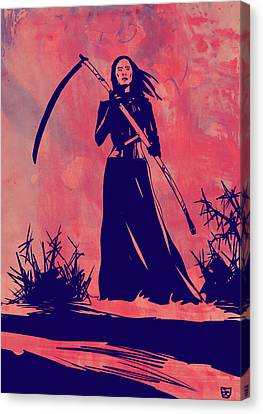 Lady D Canvas Print by Giuseppe Cristiano