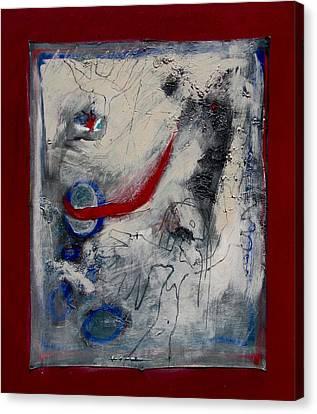 Lady Deciding Canvas Print