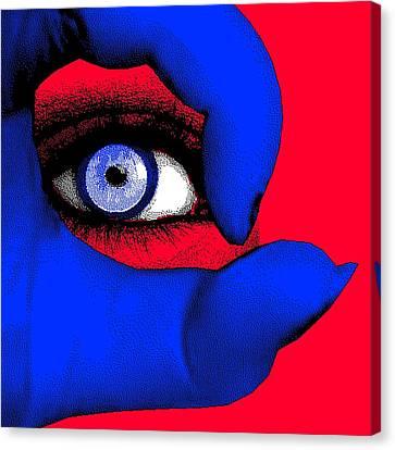 Lady Gaga Canvas Print by Daniel House
