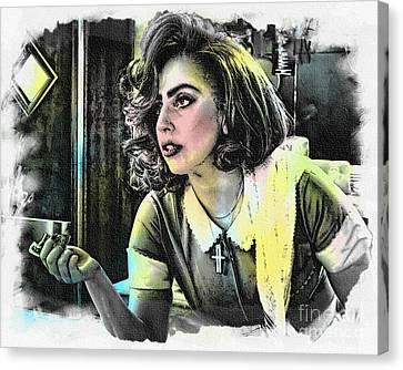 Lady Gaga - Movie Pop Art Canvas Print