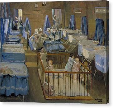 Lady Henry's Creche - Woolwich Canvas Print by Mountain Dreams