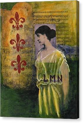 Lady In Waiting Canvas Print by Terry Honstead