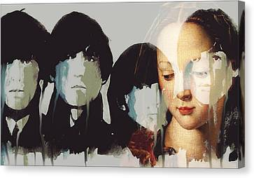 Old Canvas Print - Lady Madonna Children At My Feet  by Paul Lovering