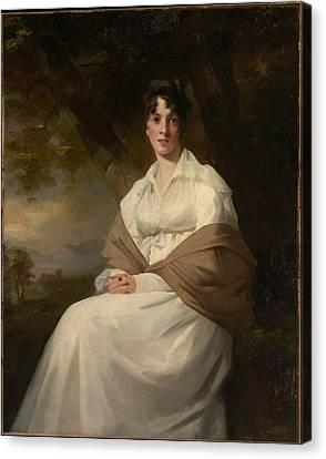 Lady Maitland Canvas Print by Henry Raeburn
