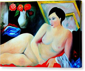 Lady Of Leisure.... Canvas Print