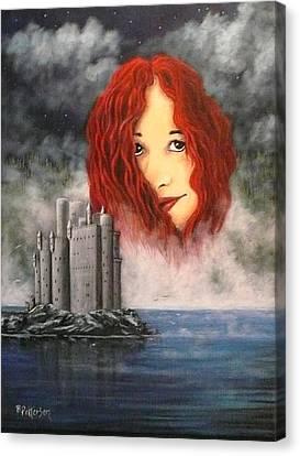 Lady Of The Lake Canvas Print by Bob Patterson