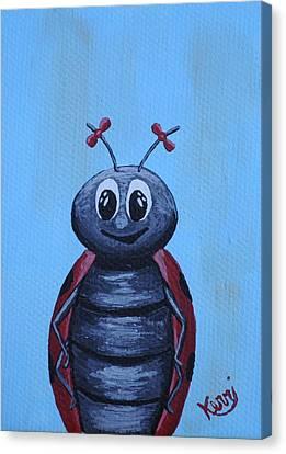 Ladybug's School Picture Canvas Print