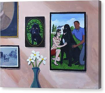 Lady's Family Gallery Canvas Print