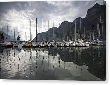 Lago Di Garda Canvas Print by Andre Goncalves