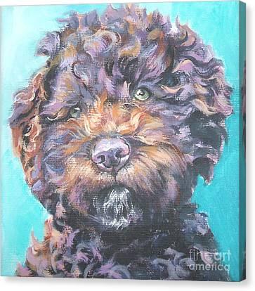 Lagotto Romagnolo Canvas Print by Lee Ann Shepard
