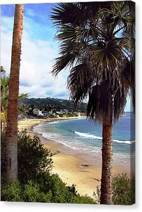 Laguna Beach 2 Canvas Print by Joanne Coyle