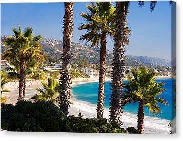 Laguna Beach California Coast Canvas Print