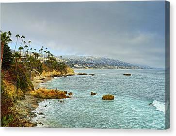 Laguna Beach Coastline Canvas Print by Glenn McCarthy Art and Photography