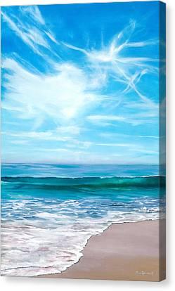 Laguna Christmas Canvas Print