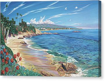 Laguna Color Canvas Print